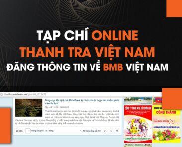 tạp chí online thanh tra việt nam đăng thông tin bmb việt nam