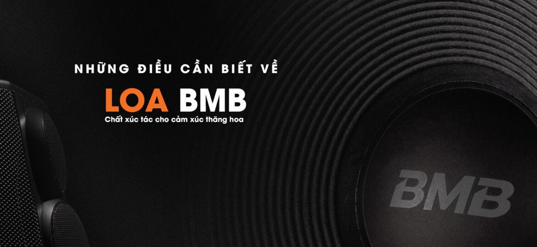 NHỮNG ĐIỀU CẦN BIẾT VỀ LOA BMB