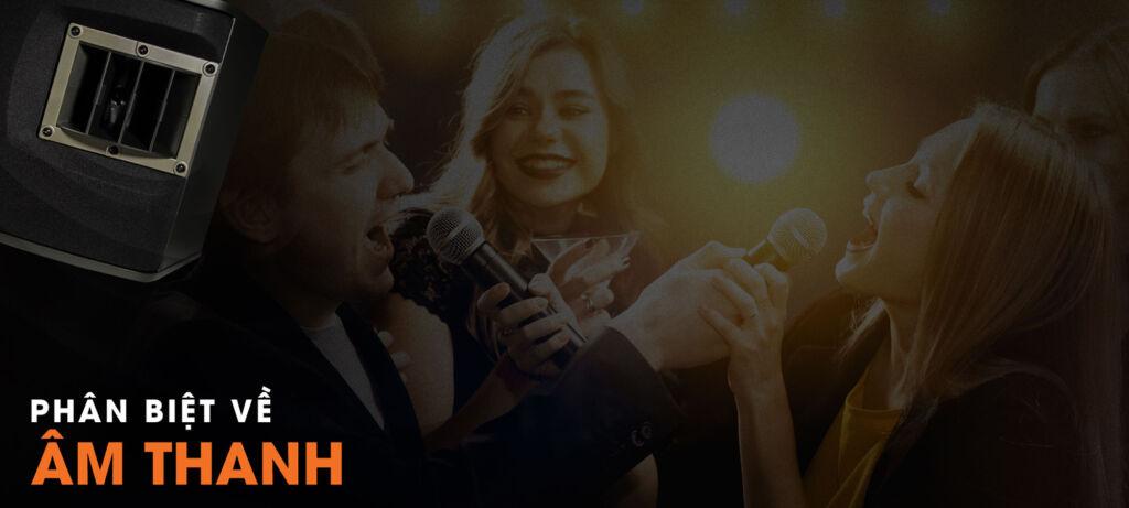 phân biệt về âm thanh loa nhạc - karaoke