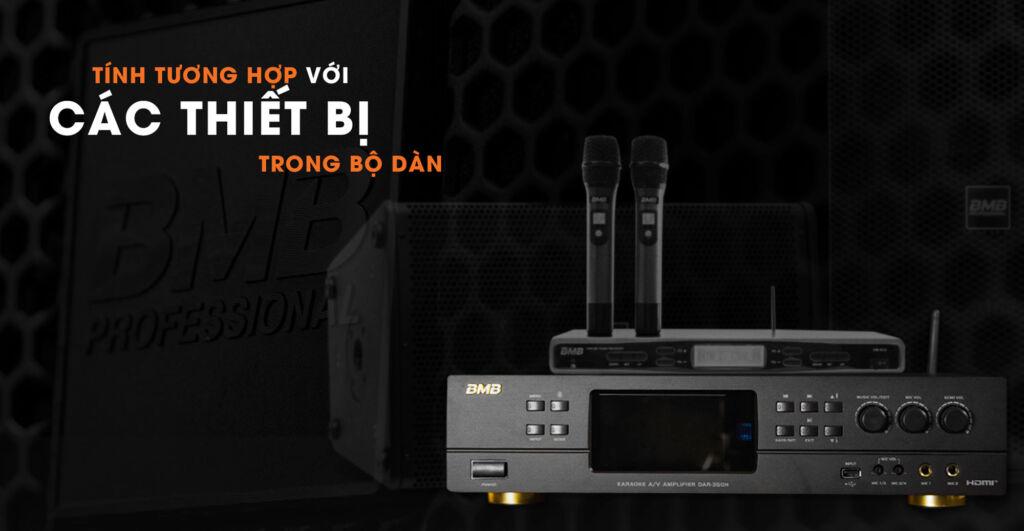 amply karaoke tính tương hợp với các thiết bị