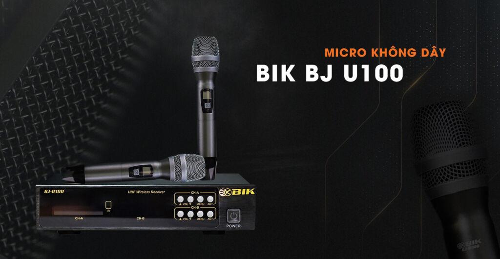 Micro không dây bik bj u100