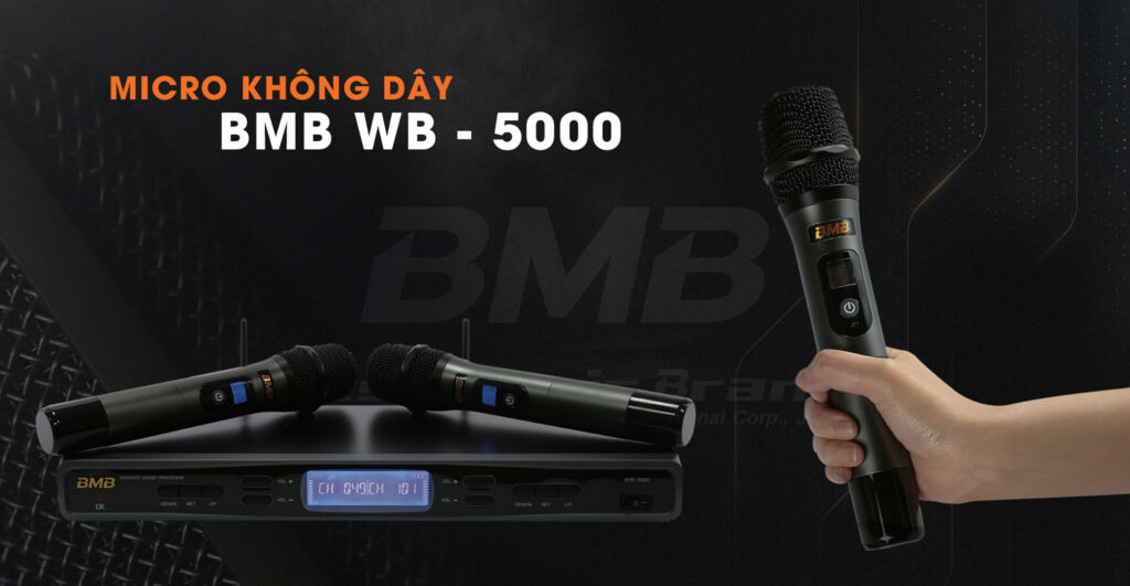 Micro không dây bmb wb-5000