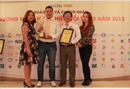 bmb việt nam đón nhận danh hiệu thương hiệu nổi tiếng