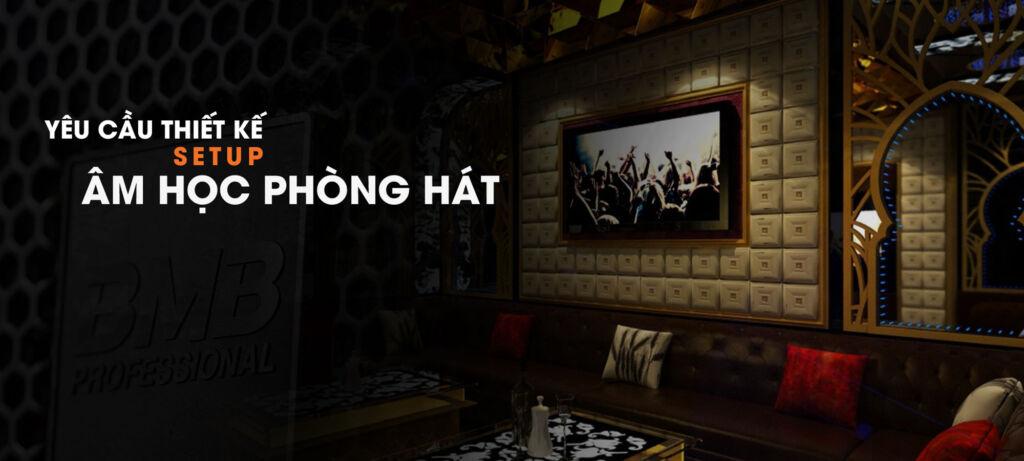 Loa karaoke bmb với những dự án nổi bật