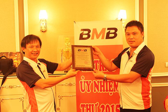 LỄ TRAO ỦY NHIỆM THƯ 2015 CHO BMB MIỀN BẮC