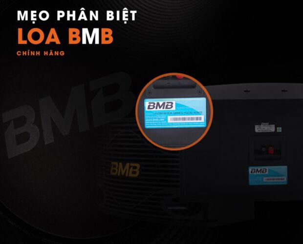 hướng dẫn phân biệt loa bmb chính hãng