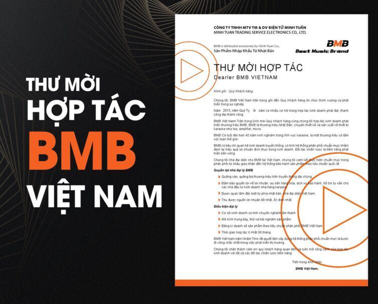 thư mời hợp tác bmb việt nam
