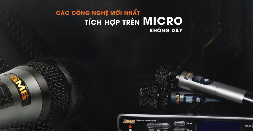 Những công nghệ mới nhất trên micro