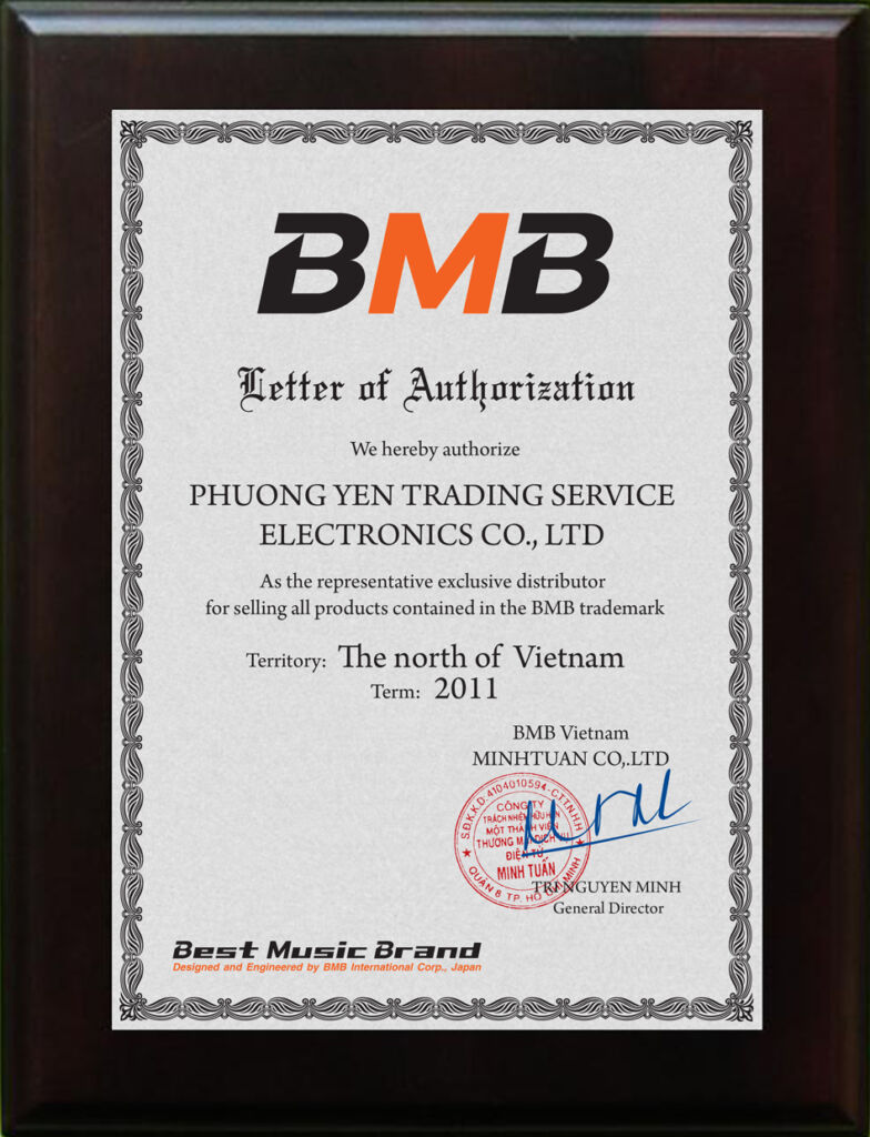 Certificate BMB Miền Bắc 2011