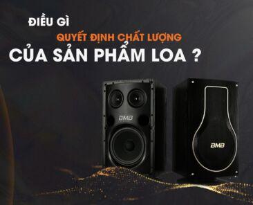 dieu gì quyet dinh chat luong san pham loa