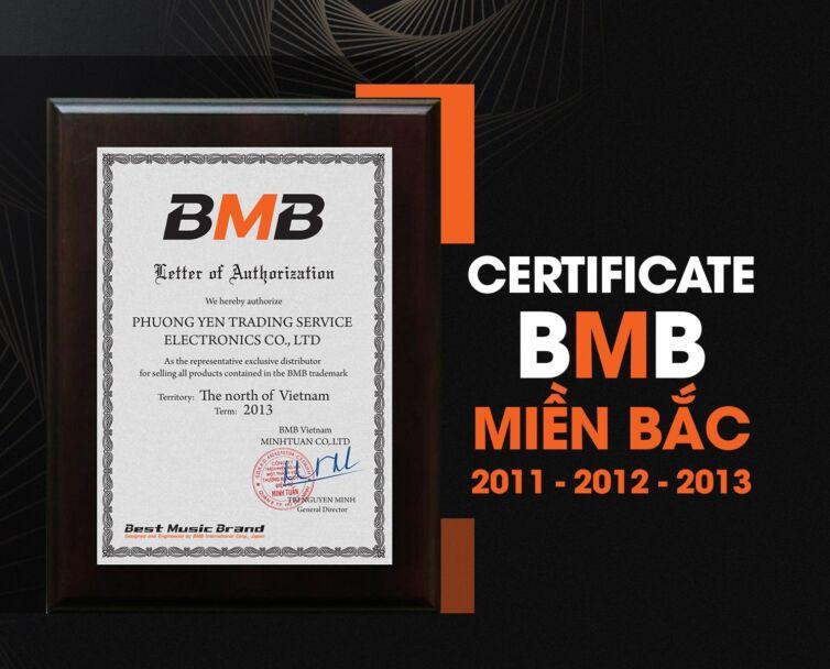 Certificate bmb miền bắc 2011-12-13